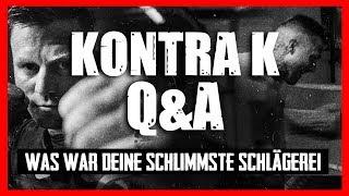 KONTRA K Q&A: WAS WAR DEINE SCHLIMMSTE SCHLÄGEREI? 4K