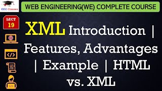 XML Introduction | Features, Advantages | Example | HTML vs. XML in Hindi