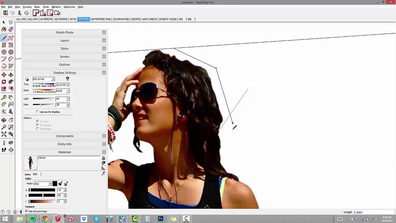 オブジェクトライブラリの展開:02  -  SketchUpフェイスミーコンポーネント
