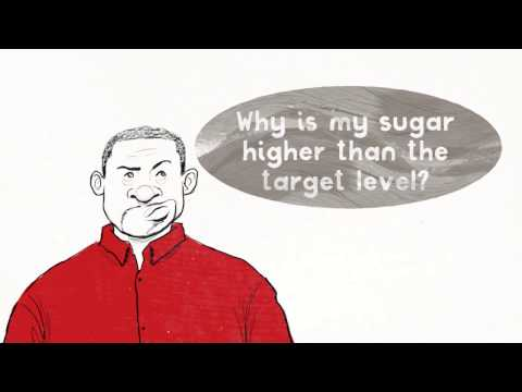 Why is my sugar higher than the target level?