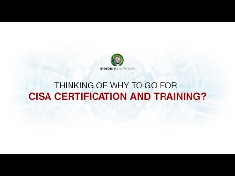 CISA Live Online Training: In a World Full of Auditors, be a CISA ...