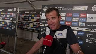 Thomas Voeckler - Interview à l'arrivée  - World Championships