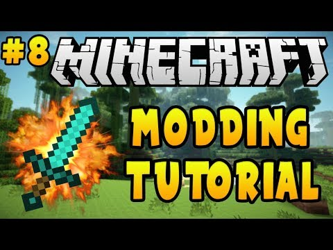 Minecraft 1.12.2: Modding Tutorial - Custom Tools (#8)