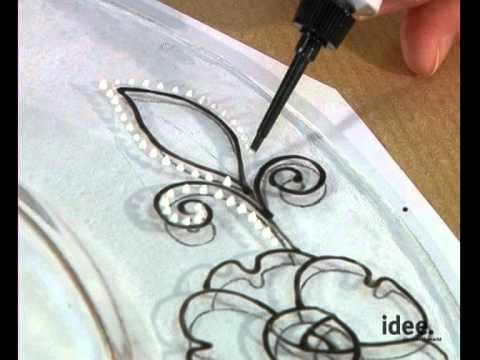 idee. Tipp Nr. 056 - Glasart Farbe für Hinterglasmalerei