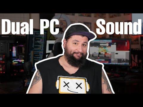 Stream Audio Tutorial 2019 | Dual-PC Setup und Konsolen
