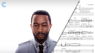 Piano - All of Me - John Legend - Sheet Music, Chords, & Vocals