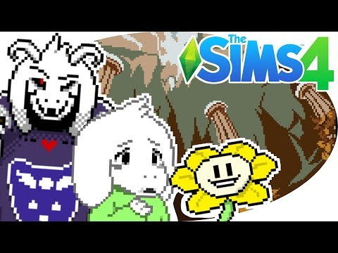 Download The Sims 4 Undertale Theme Ep 1 Create A Sim Video 3GP Mp4