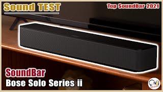 BOSE SOLO SOUNDBAR SERIES II (2) l Sound Test