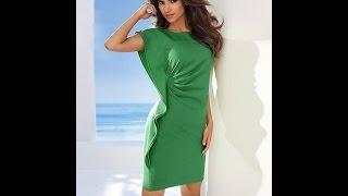 Смотреть онлайн Выкройка ассиметричного платья