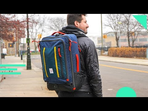 Topo Designs Travel Bag Review | 40L Backpack For Carry On Travel