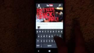 YouTube for Windows Phone 8