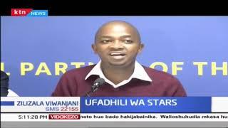 Harambee Stars wapata ufadhili | Zilizala Viwanjani