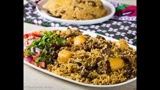 How to Cook a Kenyan Style Goat Pilau