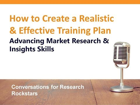 How to Create a Realistic & Effective Market Research Training Plan ...