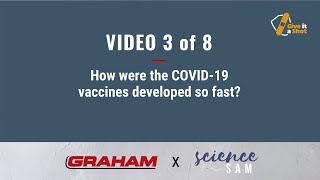Andy Asks An Expert – How were the COVID-19 vaccines developed so fast?