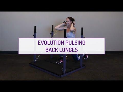 Evolution Pulsing Back Lunges