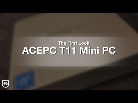 ACEPC Mini PC Windows 10 Mini PC Intel Atom x5-Z8350 2GB RAM Quad
