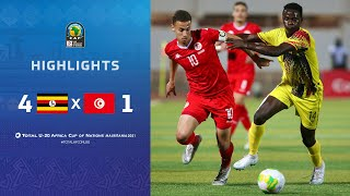 CAN U20 2021​ | Demi Final : Ouganda 4-1 Tunisie