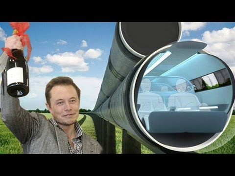 Of Course The Hyperloop Has A Wacky News Animation