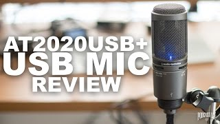 Audio Technica AT2020 USB+ Review / Test