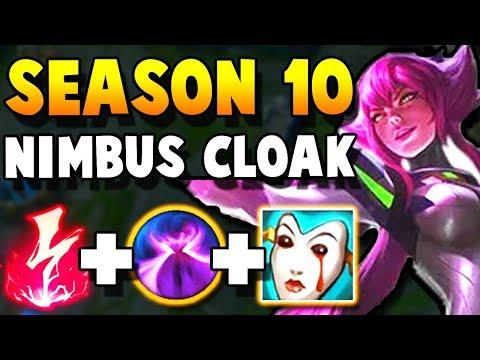 How is NIMBUS CLAOK SO AWESOME ON ELISE? New Season 10 ELISE GAMEPLAY!