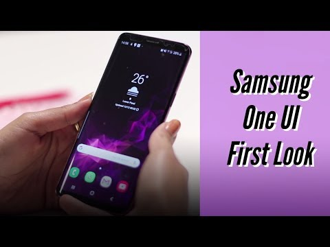 Samsung One UI First Look