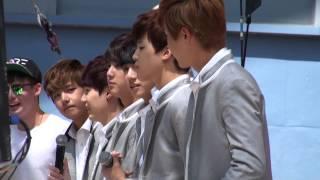 KCON 2014 BTS Fan Engagement: J-Hope & Jimin Focused
