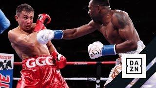 """HIGHLIGHTS   Gennadiy """"GGG"""" Golovkin vs. Steve Rolls"""