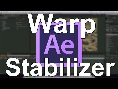 After Effects CS6 Warp Stabilizer (Basic) Tutorial