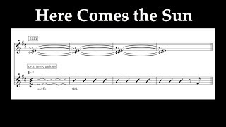Jacob Collier - Here Comes the Sun (feat. dodie) (Transcription/Reduction)