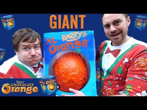 Giant Terry's Chocolate Orange | Super Size Guys