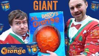 Giant Terry's Chocolate Orange | Super Size Guys