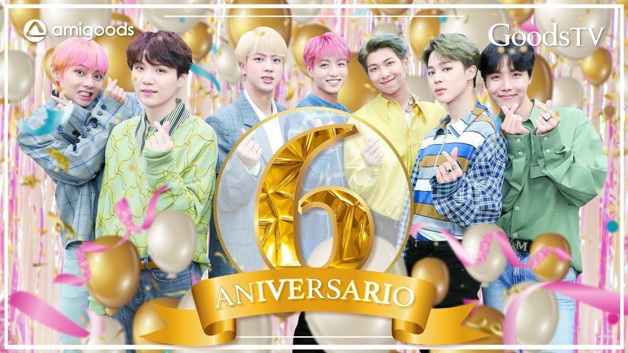 ¡BTS celebra su 6to ANIVERSARIO con TODO el ARMY!