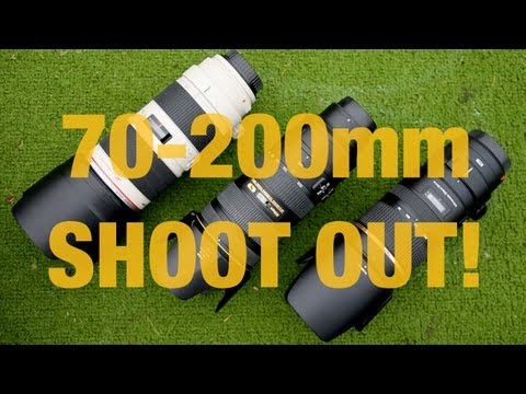 70-200 Showdown pt1 - Tamron vs Canon vs Nikon