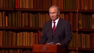 Путин: Церемония закрытия Года литературы и открытия Года кино / Итоги года
