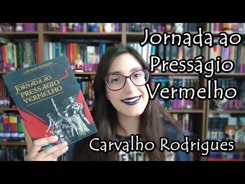 Resenha Jornada ao Presságio Vermelho | Biblioteca Fantástica