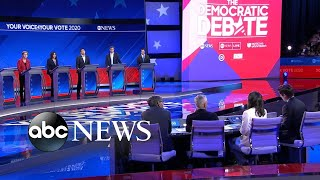 Democratic candidates debate: Addressing country's racism l ABC News