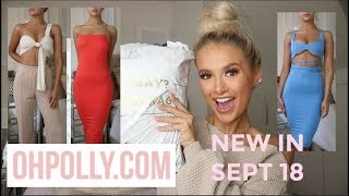 HUGE OH POLLY 'NEW IN' HAUL !!! DRESS TO IMPRESS OUTFITS | SEPT 18