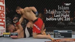 HighLight последнего боя Ислама Махачева. Promo UFC 220