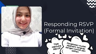 Writing RSVP for a Formal Invitation