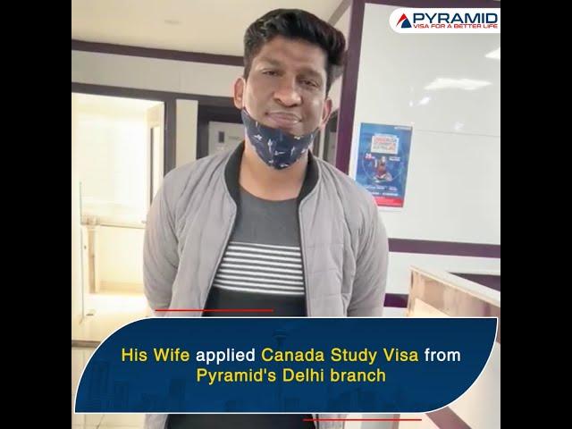 Canada study visa - Success Story!