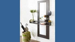 How to Make a Mirror Frame and Shelf