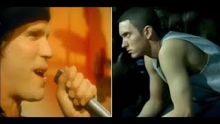 """Eminem and Survivor - """"Lose Yourself in the Eye of the Tiger"""" -  Movie Music Mash-up"""