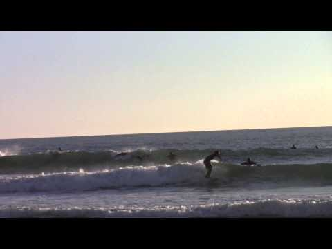 Sneaky lefts at Seaford fun waves