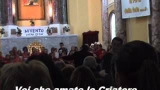 preview picture of video '18/12/2013 Chiesa Madonna della Neve Torre Annunziata. Orchestra G.Pascoli e Coro Piccole Note'
