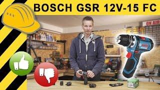 BESTER 12V AKKUSCHRAUBER von BOSCH? GSR 12V-15 FC FLEXICLICK TEST & Vergleich mit dem GSR 10,8V EC