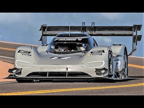 New Pikes Peak Record || Volkswagen I.D. R Full EV Monster - Fans Perspective