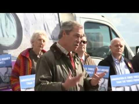 Nigel Farage : l'immigration a rendu la Grande-Bretagne méconnaissable (MàJ)