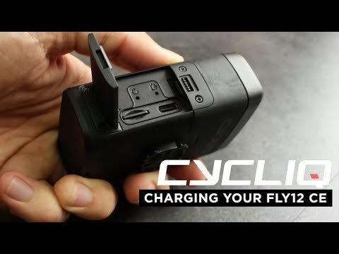 Charging your Fly12 CE