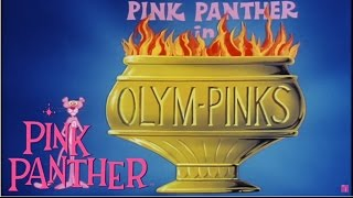 """The Pink Panther in """"OLYMPINKS!""""   25 Minute Olympics Special"""